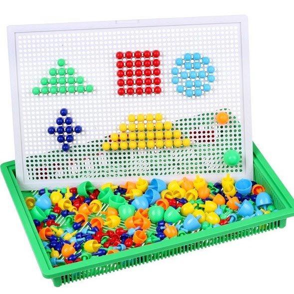 Hình ảnh Bộ Đồ Chơi Ghép Hạt Nhựa Creative Mosaic 296 Hạt