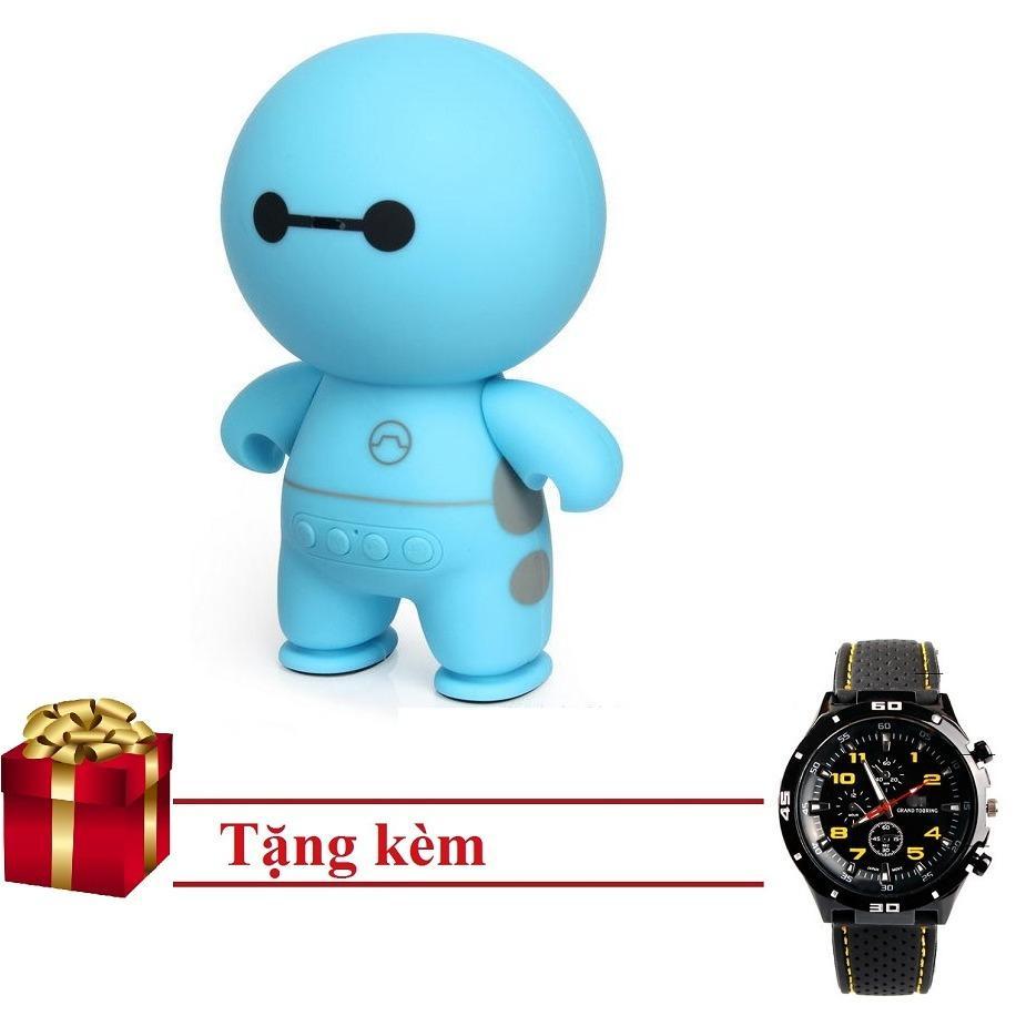 Loa bluetooth mini cầm tay big hero speaker PKCB-A9 tặng Đồng Hồ thể thao