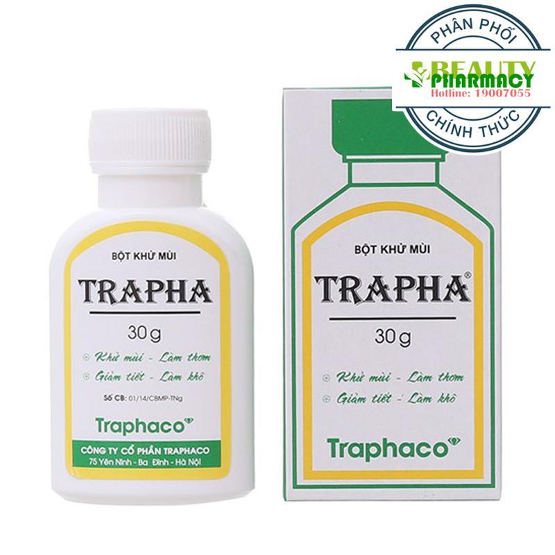 Bột khử mùi Trapha (30g x 3 Hộp) nhập khẩu