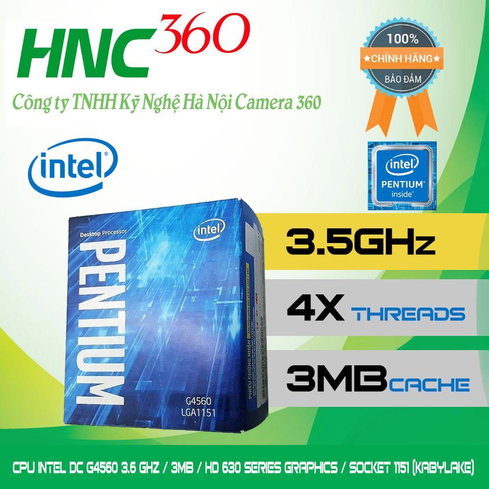 Cpu Intel G4560 3 5 Ghz 3Mb Hd 610 Series Graphics Socket 1151 Kabylake Mới Nhất