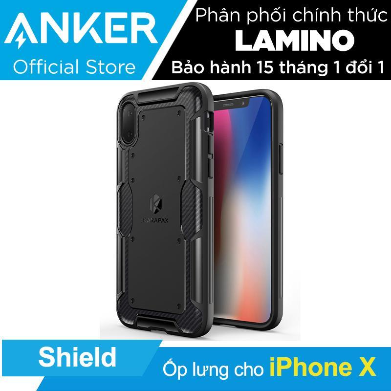 Bán Ốp Lưng Cao Cấp Anker Karapax Shield Cho Iphone X Đen Hang Phan Phối Chinh Thức Nguyên