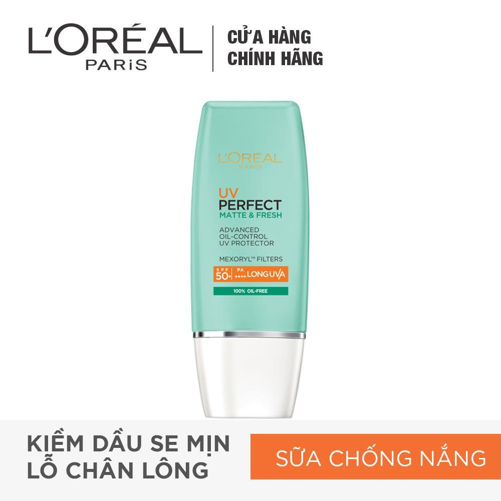 Hình ảnh Kem chống nắng bảo vệ toàn diệnse mịn lỗ chân lông & chống ô nhiễm uv Perfect fresh & Matte SPF50/PA++++