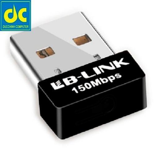 Usb thu sóng wifi LB-LINK BL-WN151 Nano (Đen)