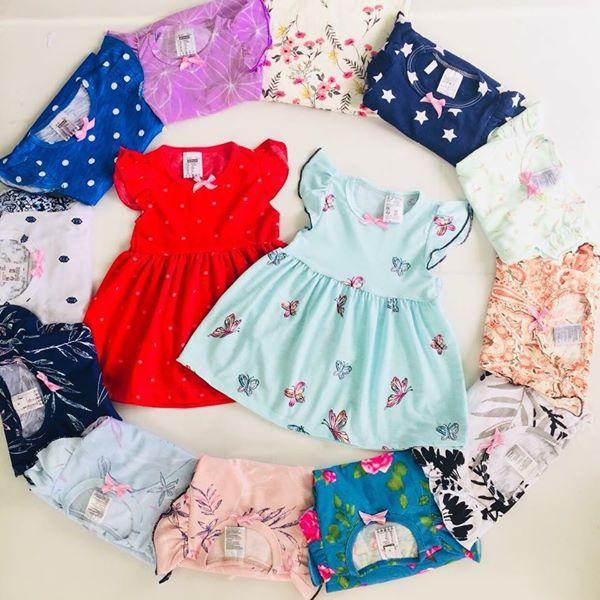 Giá bán Combo 4 váy cánh tiên cho bé gái chất mềm, mịn, đẹp