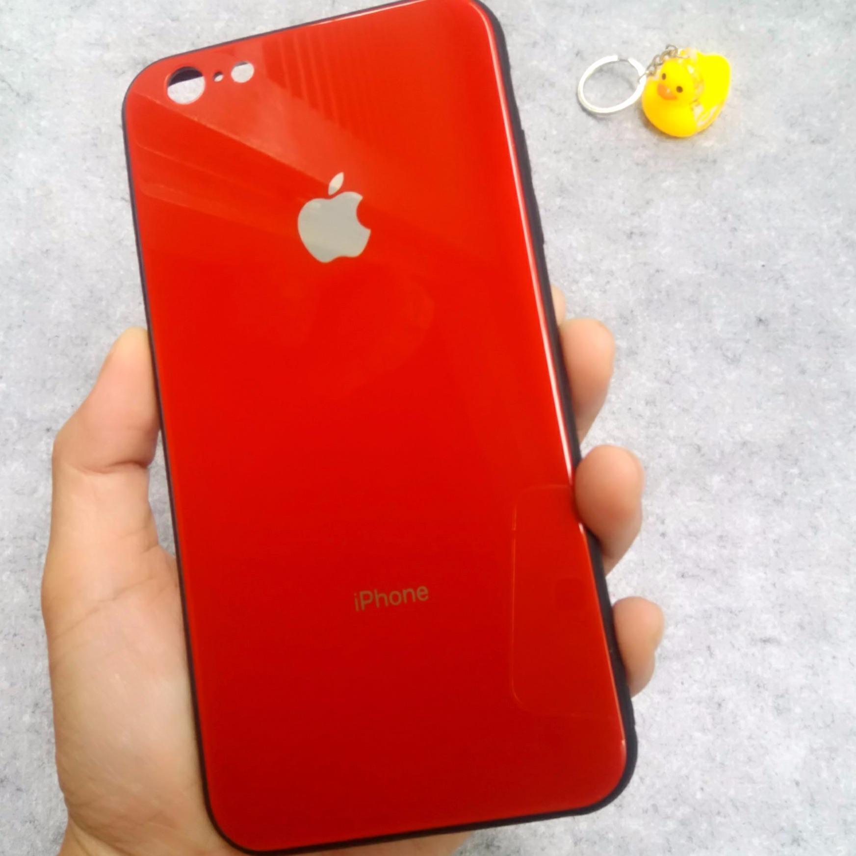 Ốp lưng kính cường lực cho iPhone 6 Plus