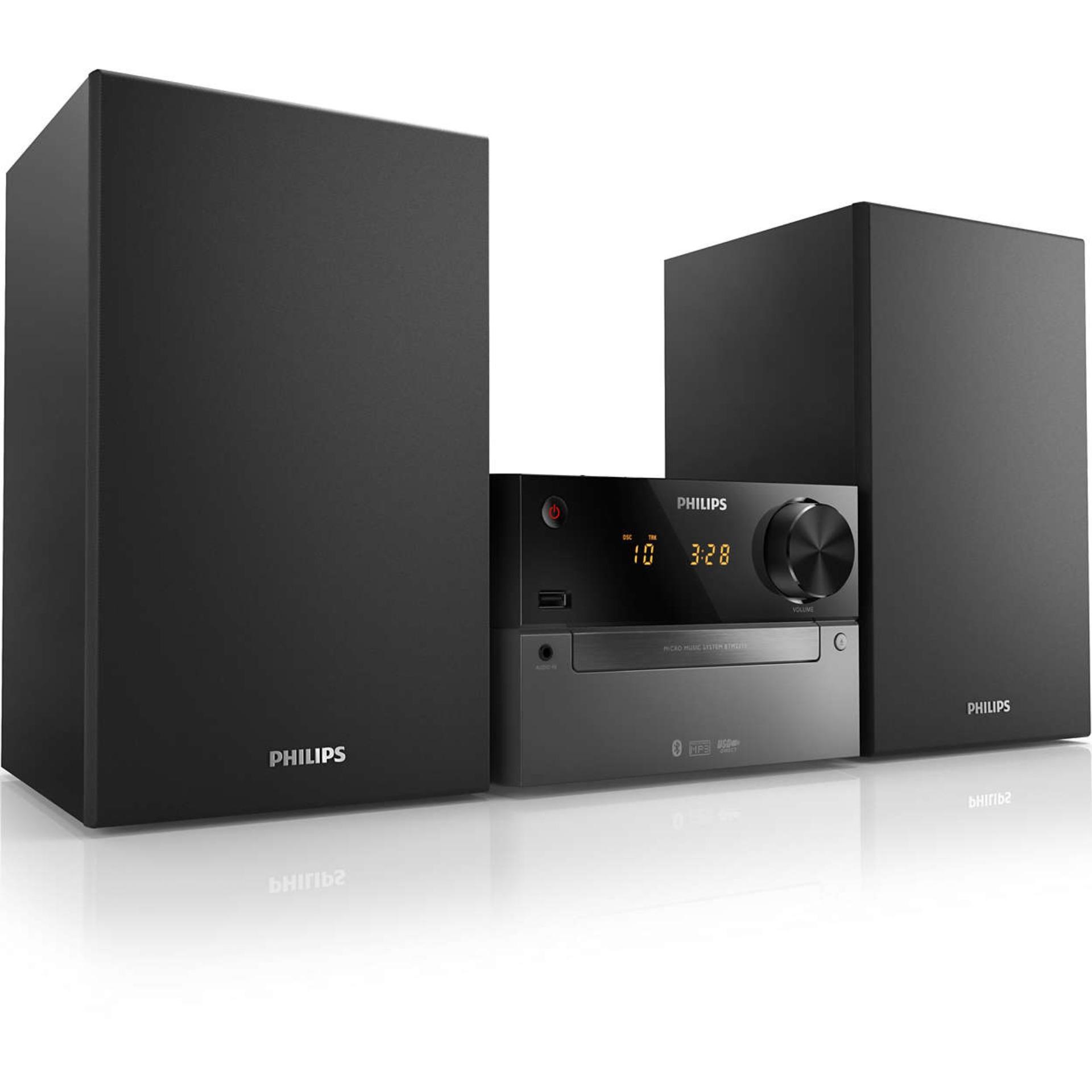 Hình ảnh Loa Philips BTM2310 HIFI/2.1(usb, Bluetooth,FM,CD) - hàng nhập khẩu