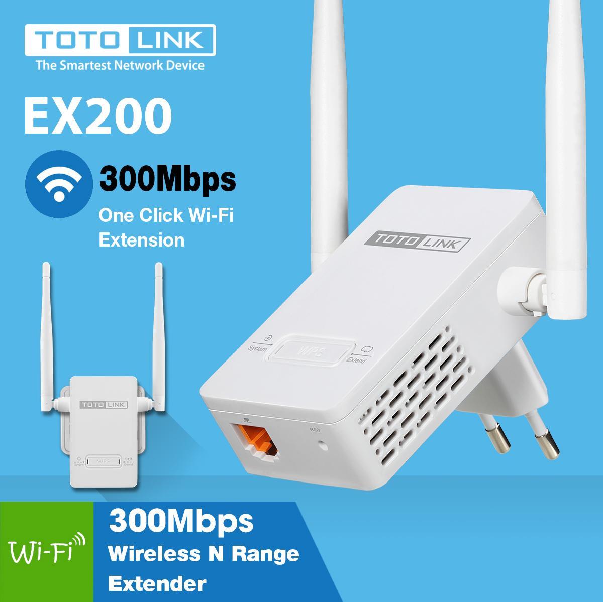 Hình ảnh Thiết bị Kích sóng WiFi Repeater TOTOLINK EX200