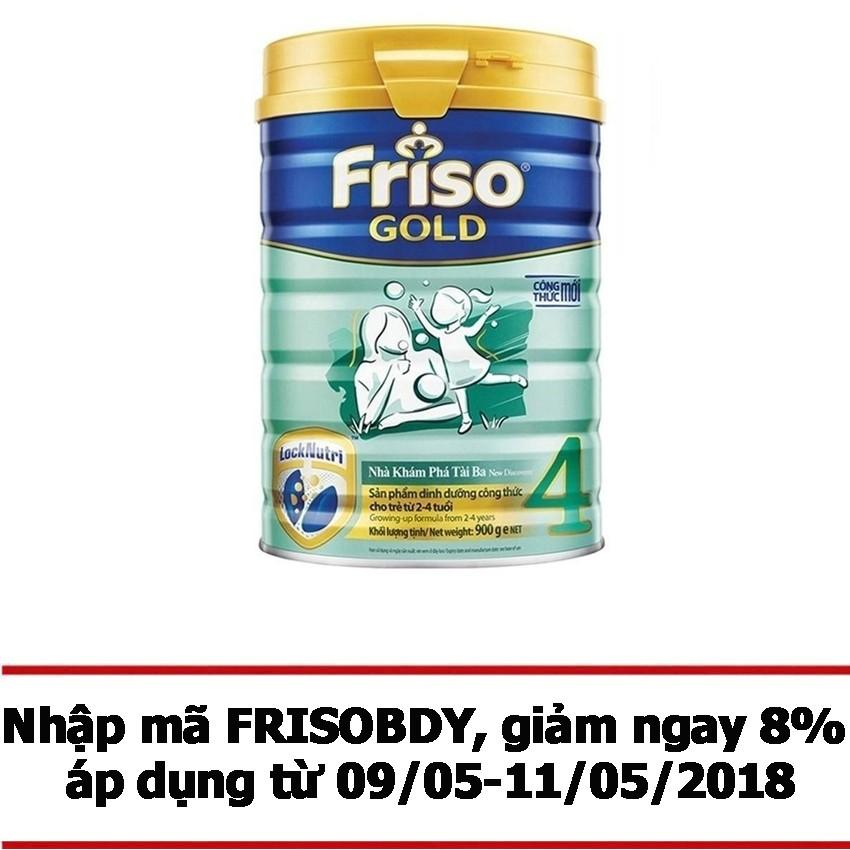 Bán Sữa Bột Friso Gold 4 900G Friso Có Thương Hiệu
