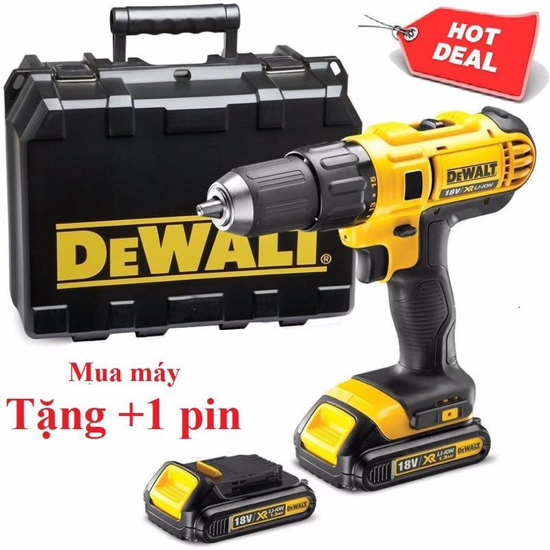 Máy khoan pin cầm tay Dewalt - Máy khoan Pin DeWalt-18v