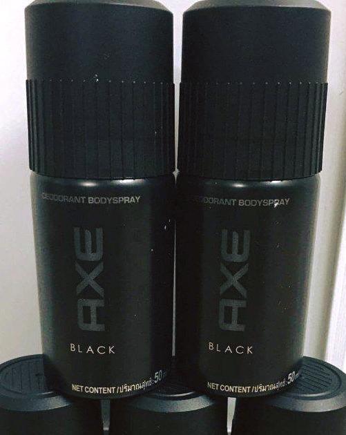Hình ảnh Combo 3 chai Xịt Ngăn Mùi Toàn Thân nam AXE mini (50ml) = 150ml + tặng 1 túi đựng mỹ phẩm