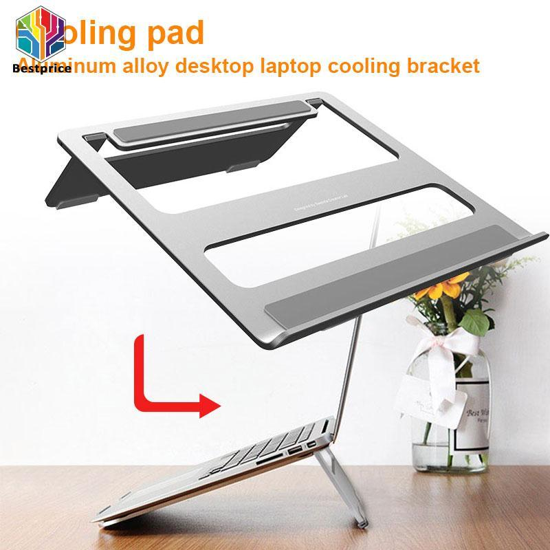 Hình ảnh Bestprice Notebook Holder Laptop Stand Universal Silvery Antiskid
