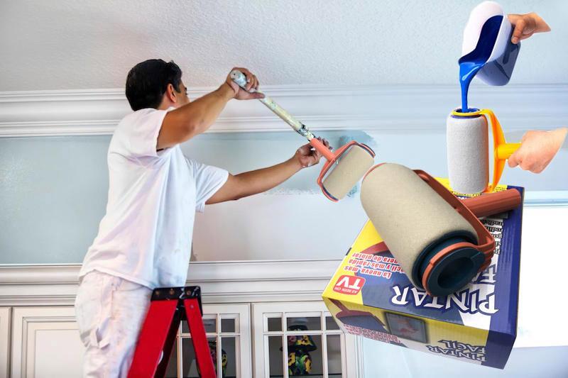 Máy Phun Sơn Cầm Tay Lazada, Lăn sơn thông minh HD532, những màu sơn nhà đẹp - Cây lăn sơn loại tốt, sơn góc tường dễ dàng, hiệu quả - Giảm 50 % khi mua online