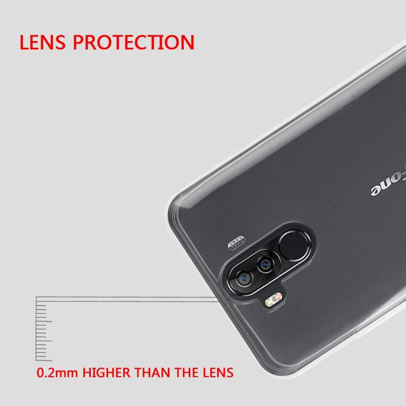 Detail Gambar Untuk Ulefone Power 3 S Lembut TPU Transparan Telepon Kembali Kasus Lindungi Cover Terbaru