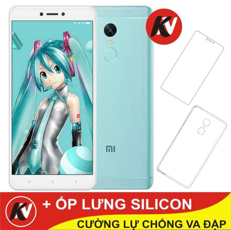 Xiaomi Note 4X 32GB Ram 3GB Kim Nhung (Xanh Bien ) + Cường lực + Ốp Silicon - Hàng nhập khẩu