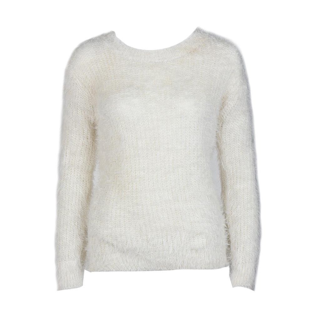 Aiipstore Women Long Sleeve Knitted Pullover Loose Sweater Jumper Tops Knitwear By Aiipstore.