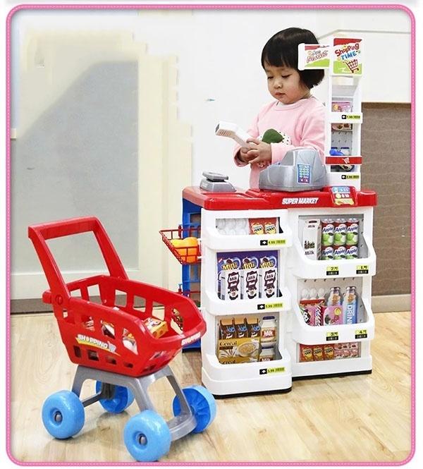Bộ thu ngân xe đẩy siêu thị 7