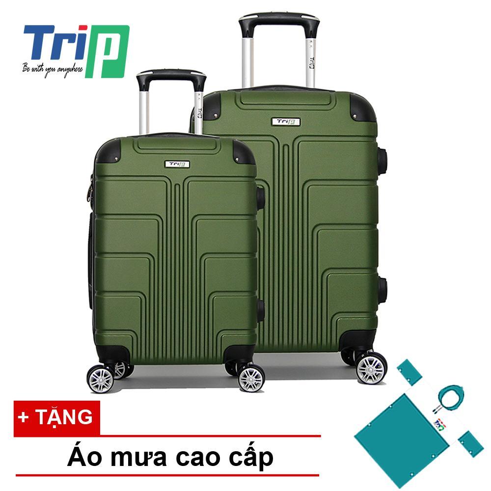 Bán Bộ 2 Vali Trip P701 Size 20 24Inch Xanh Reu