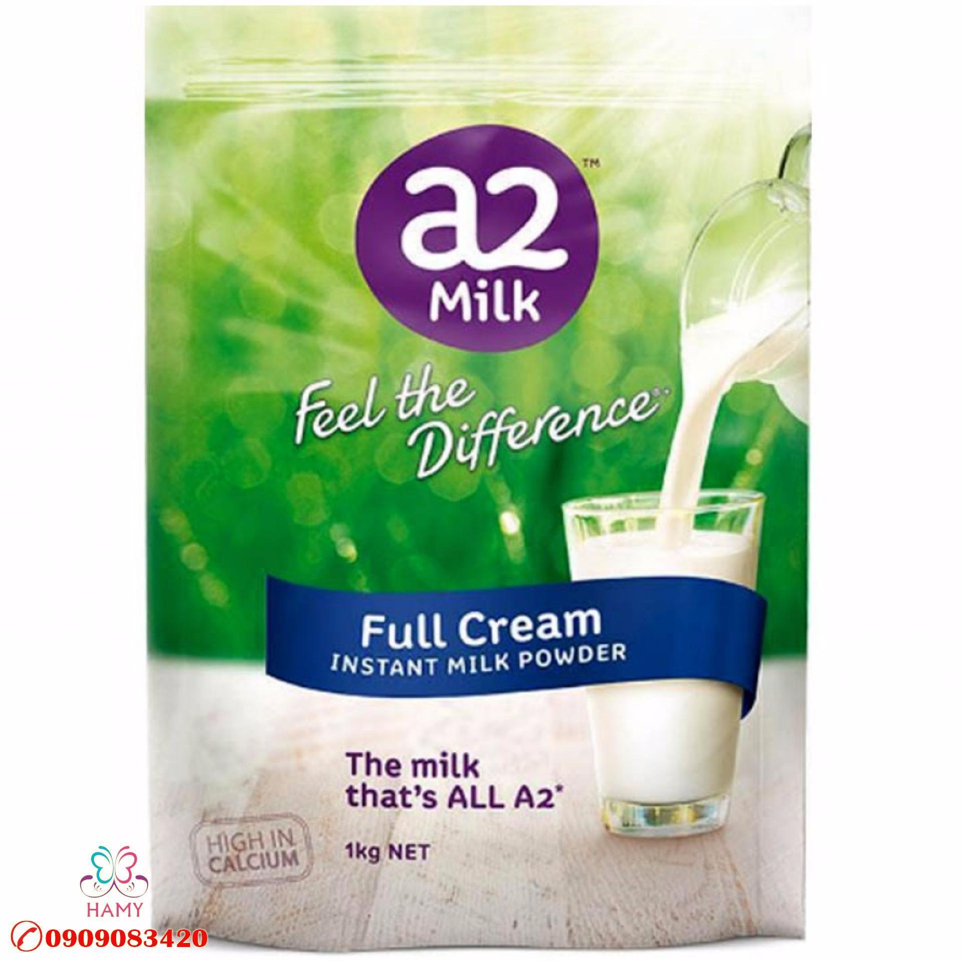 Sữa bột đạm A2 loại mới 2017 của Úc – 1kg OEM – Review sản phẩm