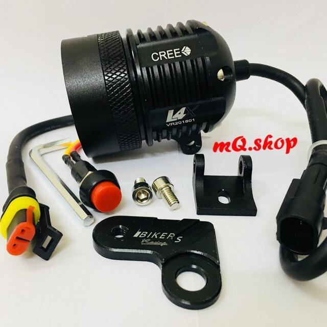 Đèn pha Led trợ sáng L4X (Tặng Pat + Công tắc)