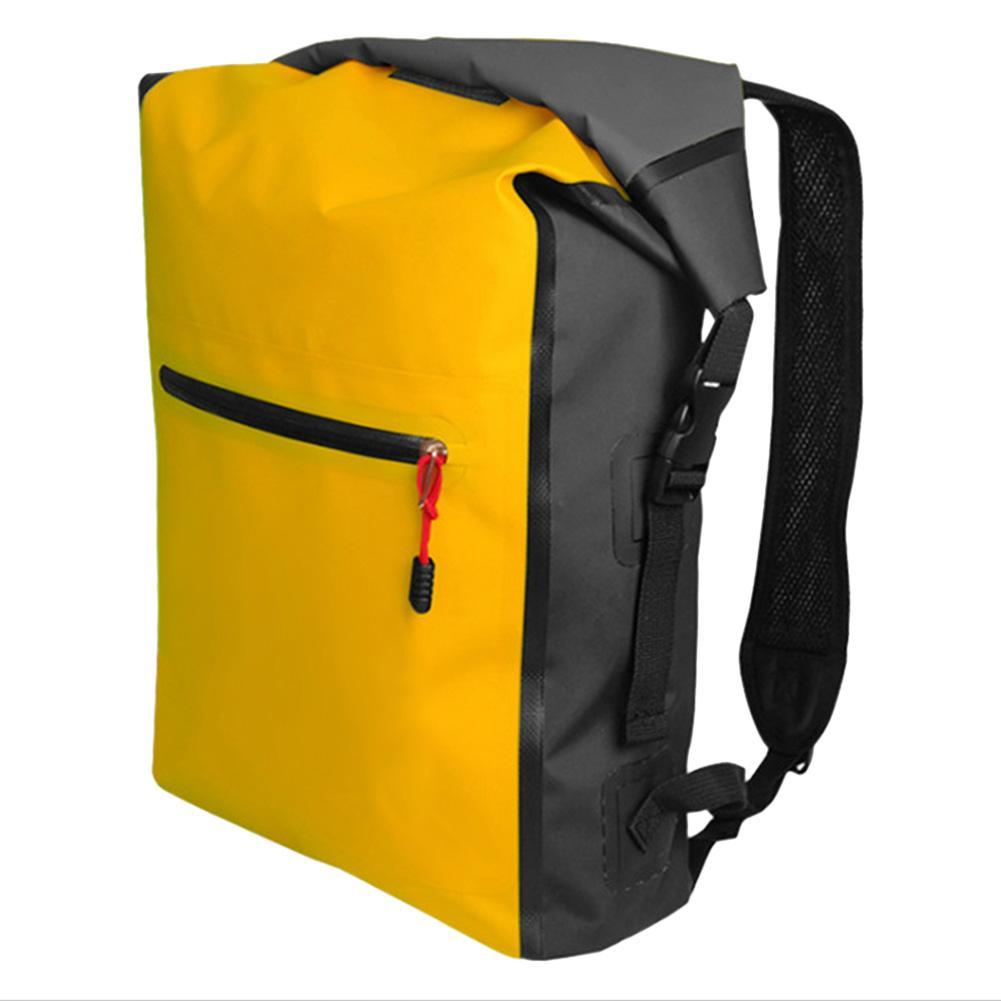Pellet12 Outdoor Waterproof Backpack Beach Barrel Bag For Travelling Swimming Outdoor Activities By Pellet12.