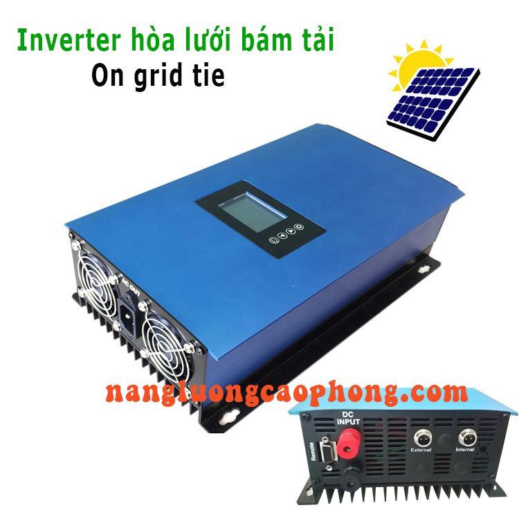 Inverter bộ hòa lưới bám tải thông minh 2000W grid tie solar and battery limiter SUN2000