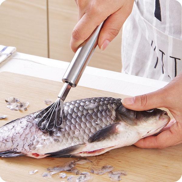 Hình ảnh Nạo dừa đánh vẩy cá