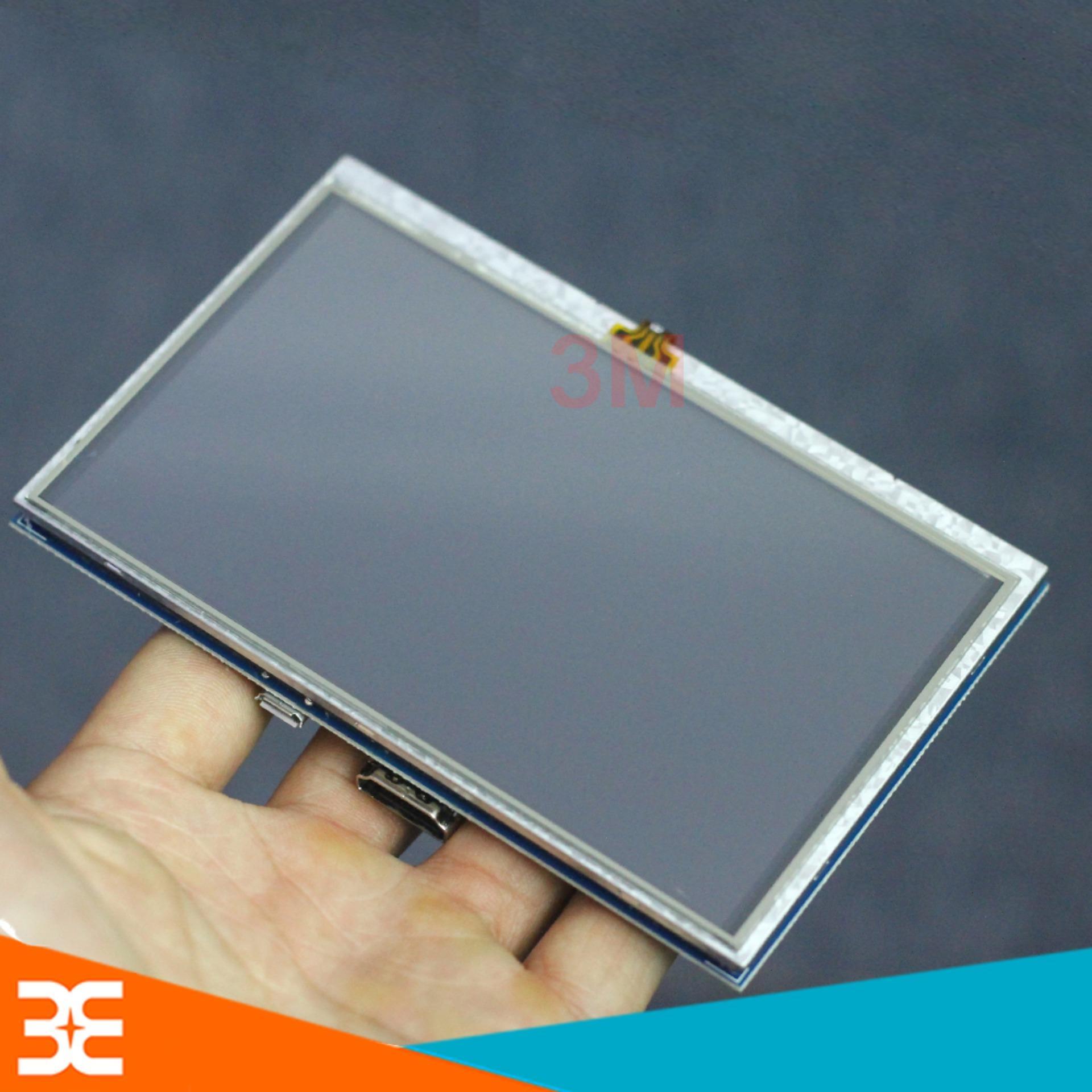 Hình ảnh Màn Hình Raspberry 5Inch 800x480 Cảm Ứng Điện Dung ( Tặng Bút Cảm Ứng )