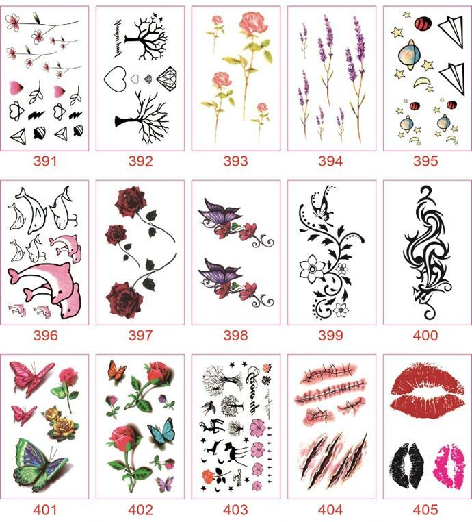 Hình ảnh Combo 30 Hình Xăm Mini Cực Chất ( Hình Ngẫu Nhiên )