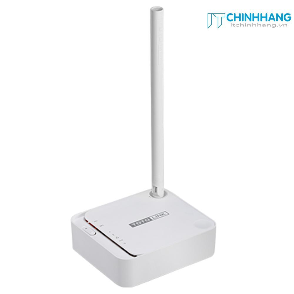 Hình ảnh Bộ Phát Wifi Chuẩn N Tốc Độ 150Mbps Mở Rộng Sóng TotoLink N100REv3 (Trắng) - Hãng phân phối chính thức