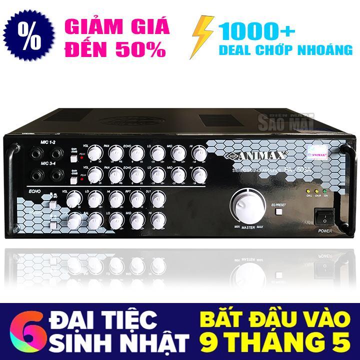 Giá Bán Ampli Karaoke Nghe Nhạc Animax Pa 503A Tặng Usb Bluetooth Rẻ