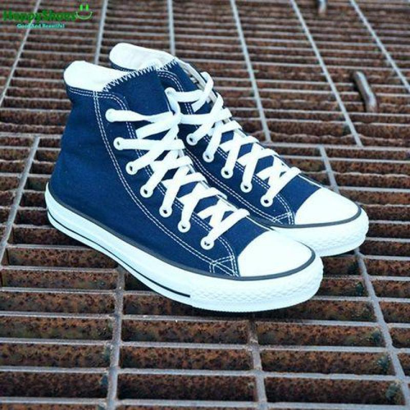 Giày converse classic xanh navi cao cổ