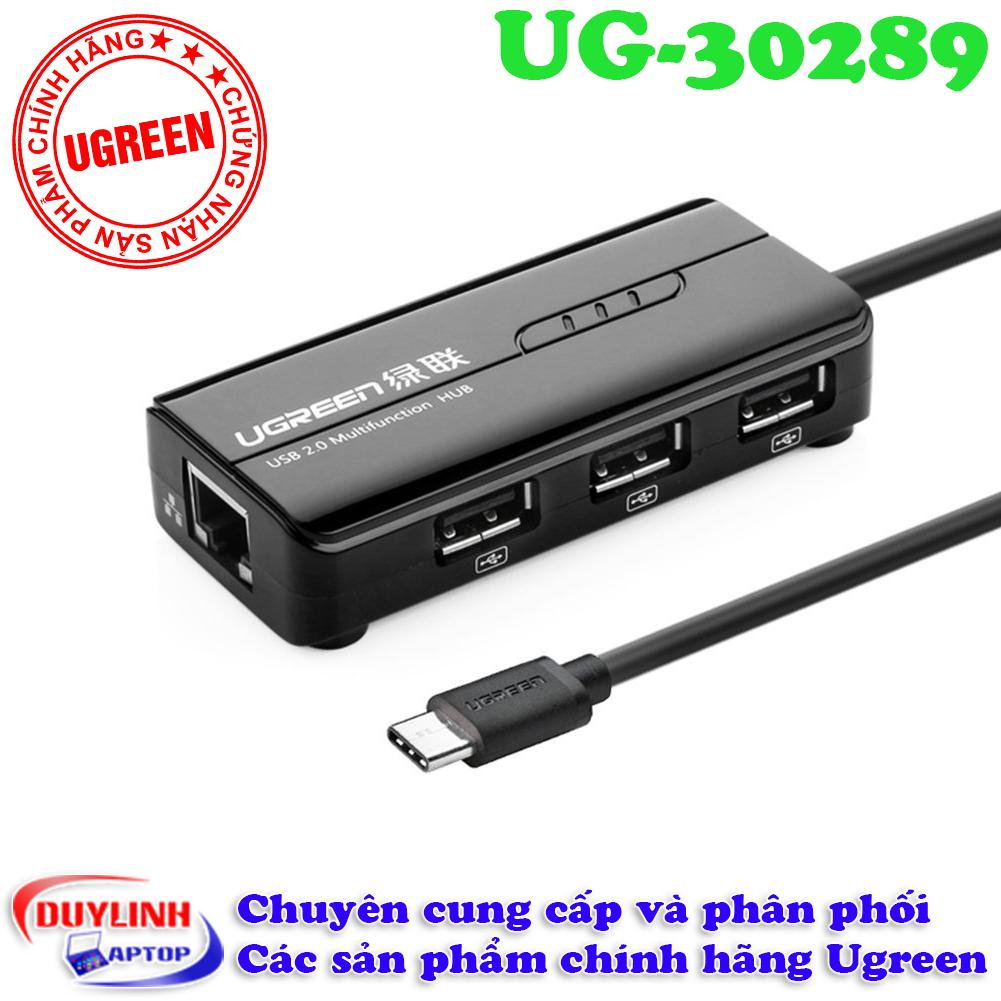 Ôn Tập Cap Usb 3 1 Type C To Lan Va 3 Cổng Usb 2 Ugreen Ug 30289 Ugreen Trong Hà Nội
