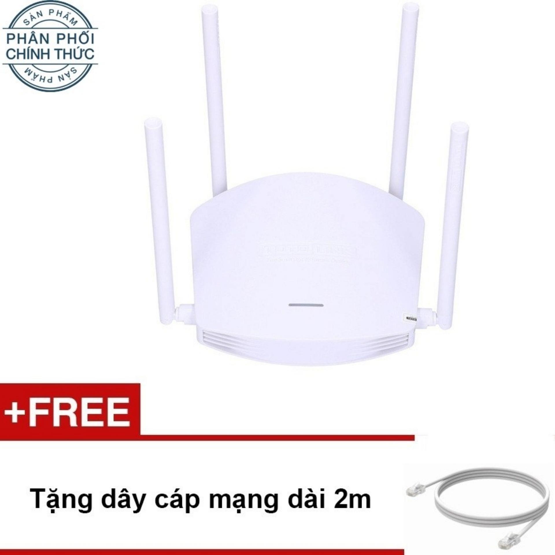 Hình ảnh Bộ phát Wifi Totolink N600R 600Mbps (Trắng) – Hãng phân phối chính thức
