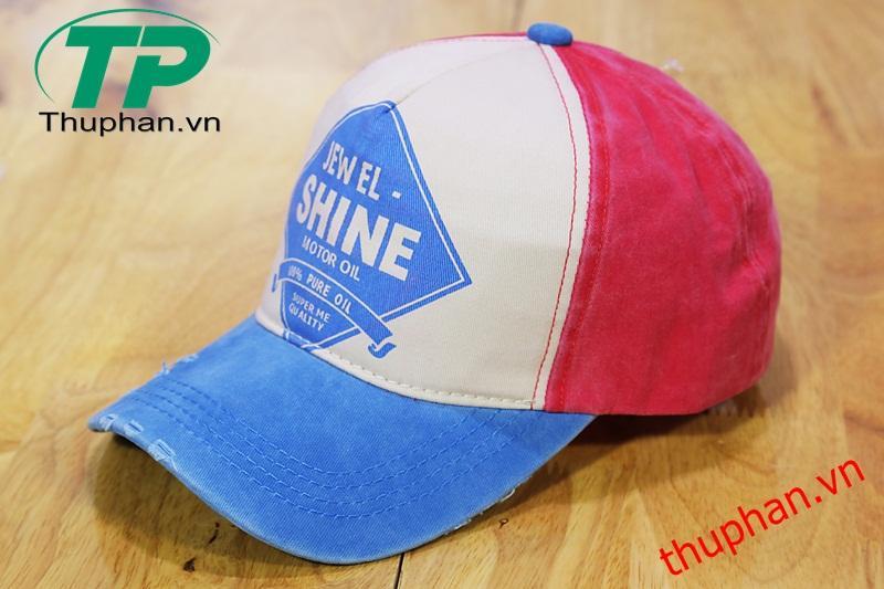 Hình ảnh Nón kết Jewel Shine dành cho người sành điệu (Xanh Navy) - Cung cấp độc quyền bởi Thuphan.vn
