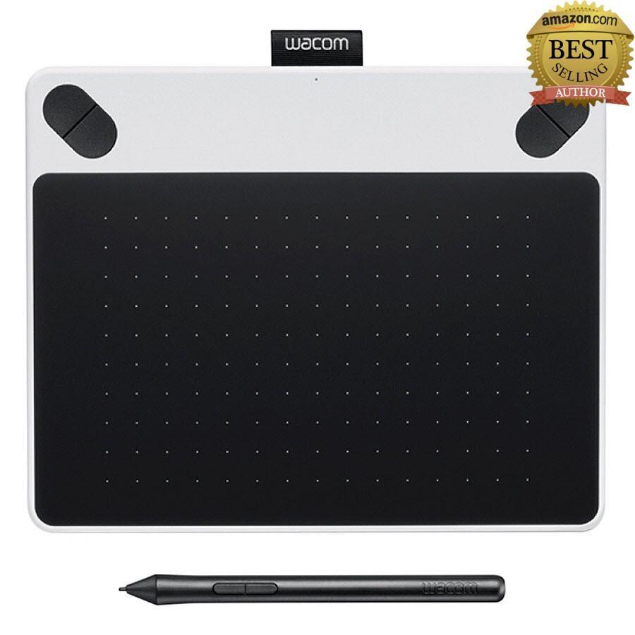 Hình ảnh Bảng vẽ Wacom Intuos Draw (trắng) CTL-490/W0 - Hàng công ty