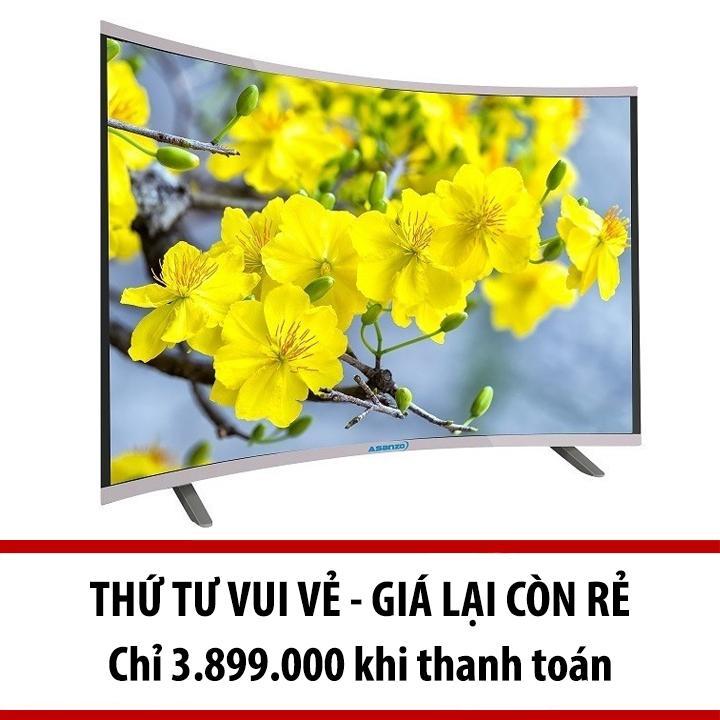 Hình ảnh Smart Tivi Asanzo màn hình cong 32 inch - Model AS32CS6000