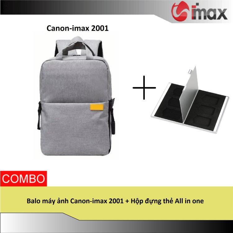 Hình ảnh Balo máy ảnh Canon-imax 2001 + Hộp đựng thẻ All in one