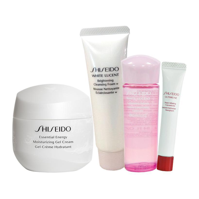 Bộ sản phẩm dưỡng ẩm - truyền năng lượng Shiseido Essential Energy Moisturizing Gel Cream 50ml