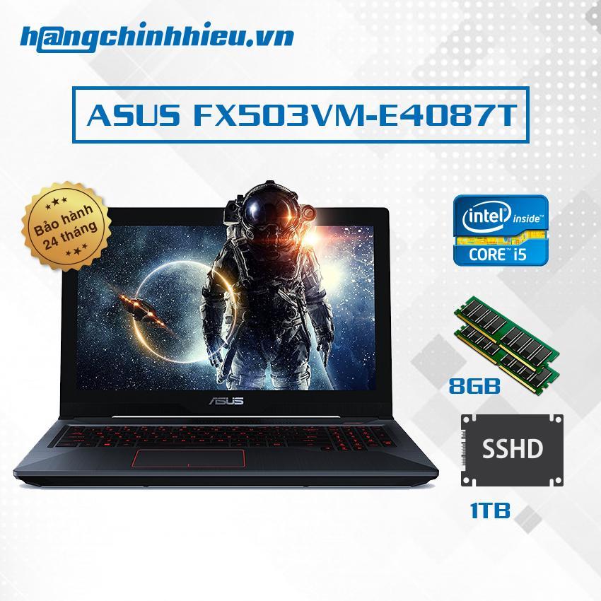 Hình ảnh Laptop ASUS FX503VM-E4087T Hãng phân phối chính thức - Core i5-7300HQ VGA GTX 1060 6GB 15.6