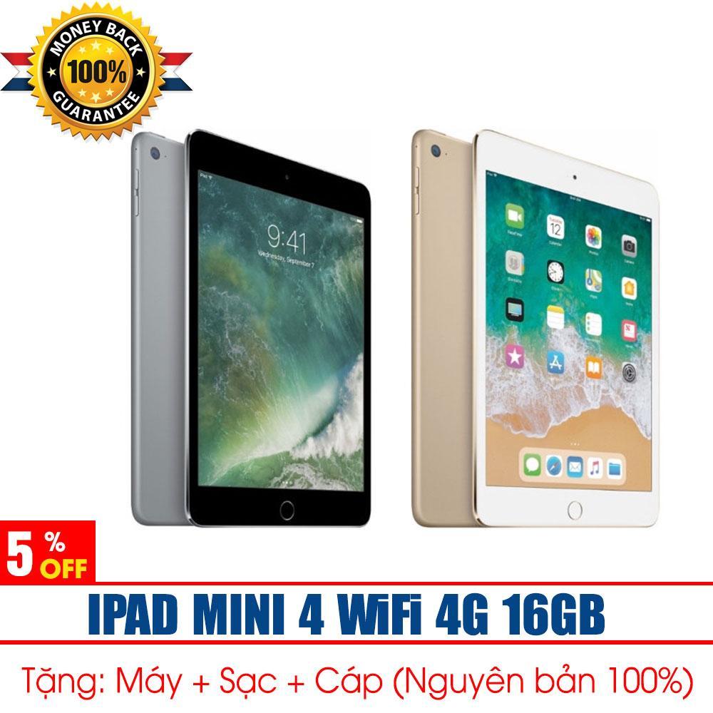 Hình ảnh IPAD MINI 4 + 4G Wifi + 16GB - Hàng Nhập Khẩu