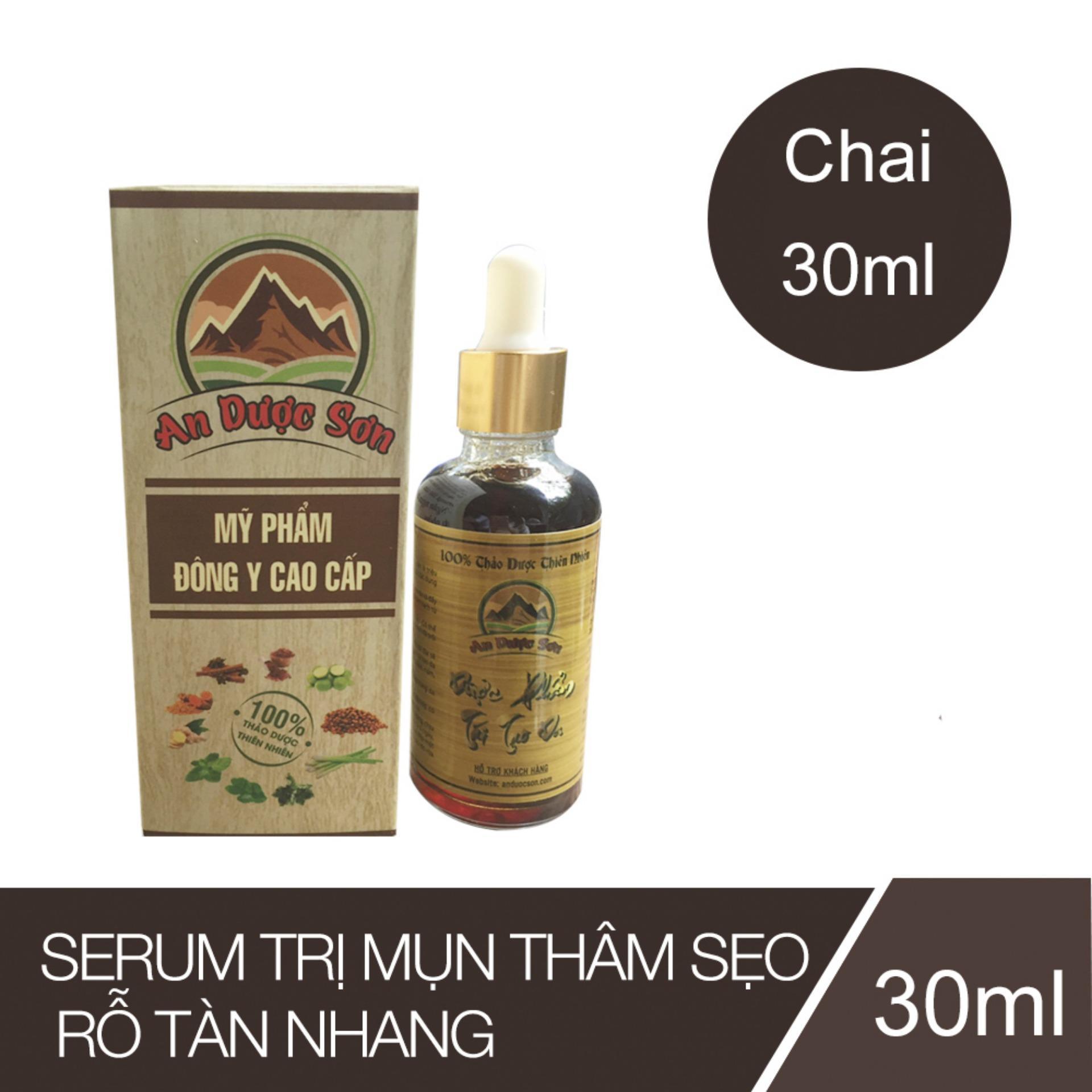 Hình ảnh Serum trị mụn thâm sẹo rỗ An Dược Sơn - Chai 30ml