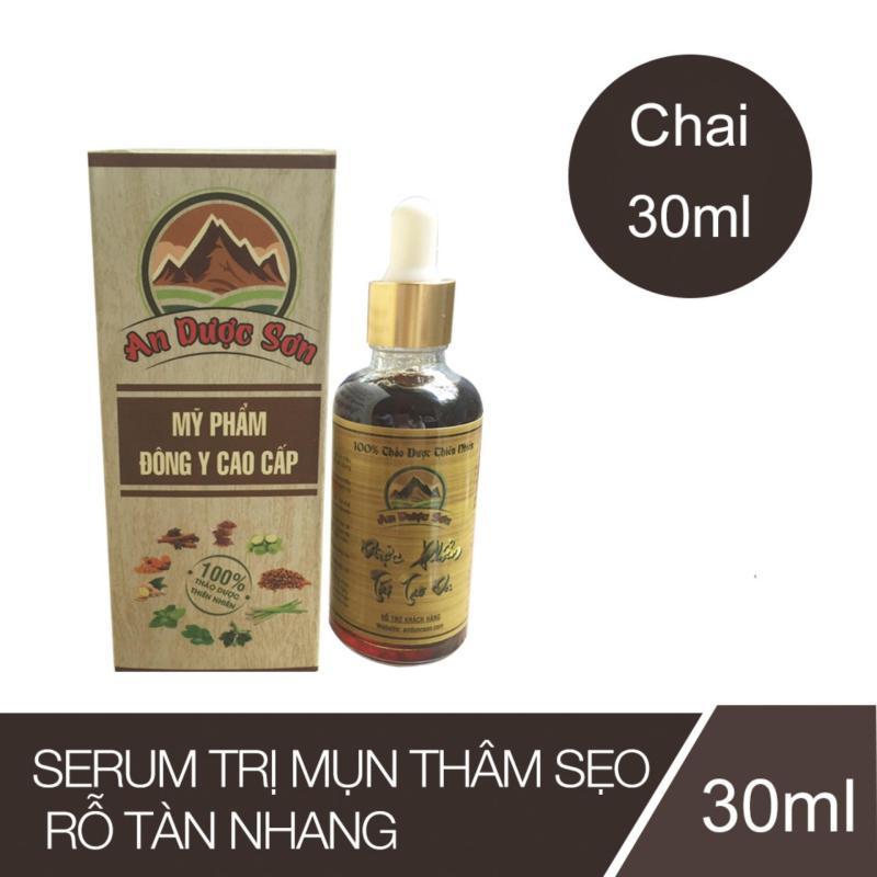 Serum trị mụn thâm sẹo rỗ An Dược Sơn - Chai 30ml nhập khẩu