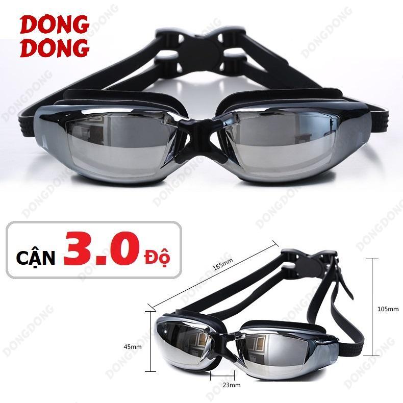 Mua Kinh Bơi Cận 3 Độ Trang Gương 2588 Chống Uv Chống Hấp Hơi Kinh Thời Trang Cao Cấp Dongdong Oem Rẻ