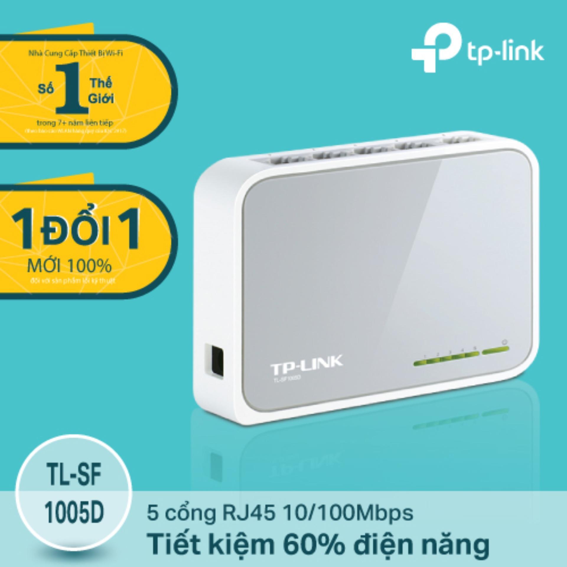 Mua Tp Link Tl Sf1005D Switch 10 100Mbps 5 Cổng Để Ban Hang Phan Phối Chinh Thức Trong Hồ Chí Minh