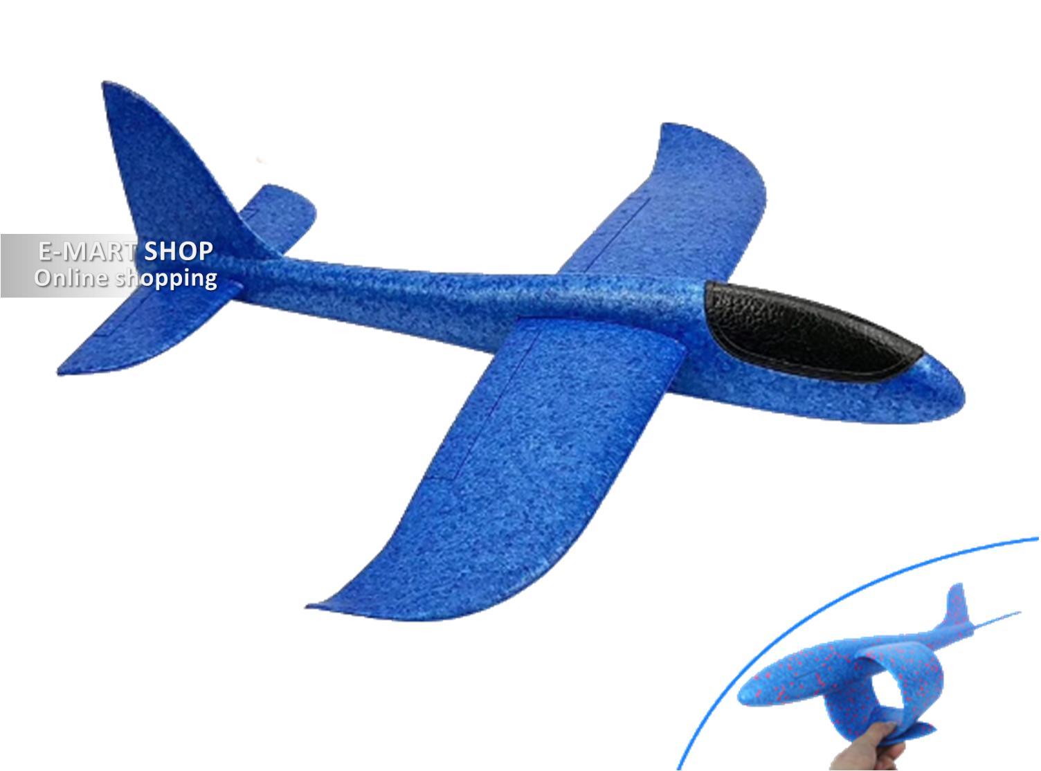 Hình ảnh Đồ Chơi Máy Bay Xốp Dẻo FX35 Cho Mùa Hè Sôi Động (Màu xanh)