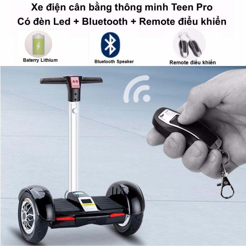 Hình ảnh Xe điện cân bằng thông minh Teen Pro có đèn Led Remote điều khiển