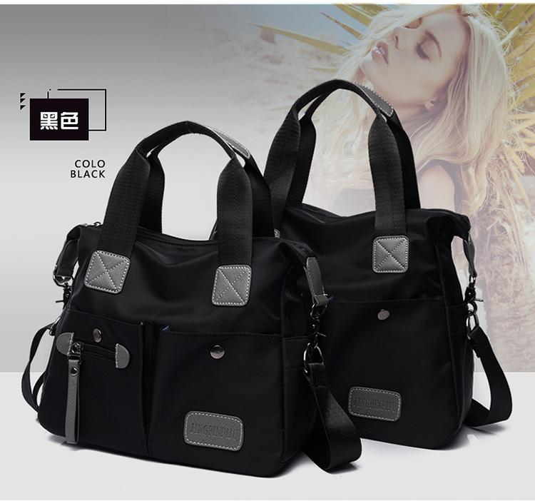 465d03403244 Handbag Shoulder Bag 2018 New Style Korean Style Large Capacity Backpack  Waterproof Nylon Hop Trendy Bag