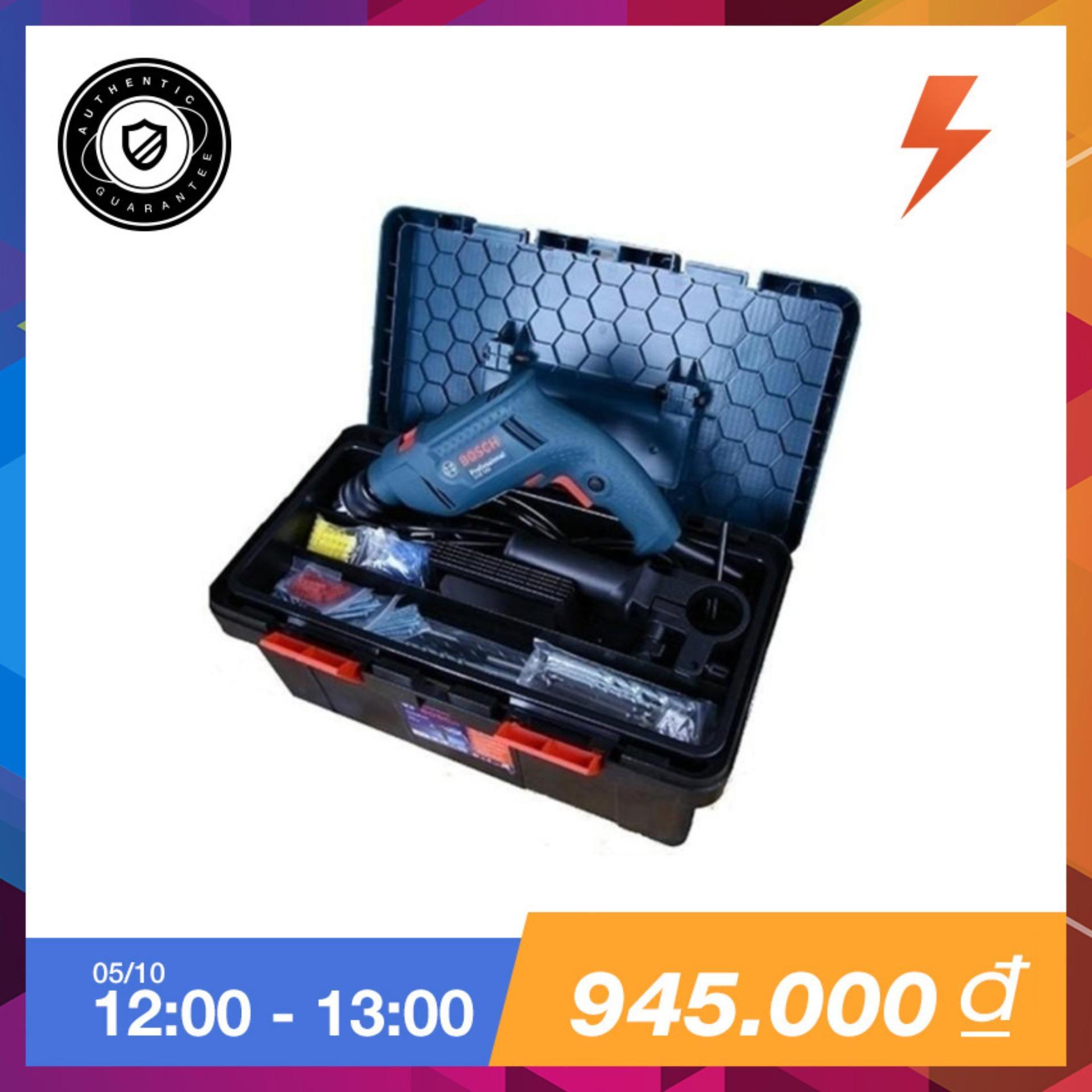 Bán Bộ May Khoan Bosch Gsb 550 Freedom Set 550W Va 90 Chi Tiết Kem Hộpnđựng Dụng Cụ Xanh Tặng Bộ Mũi Khoan Va Vặn Vit X Line 34 Chintiết Bosch 2607010608 Trong Bắc Ninh