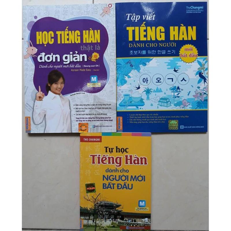 Mua Combo sách Học tiếng Hàn dành cho người mới bắt đầu
