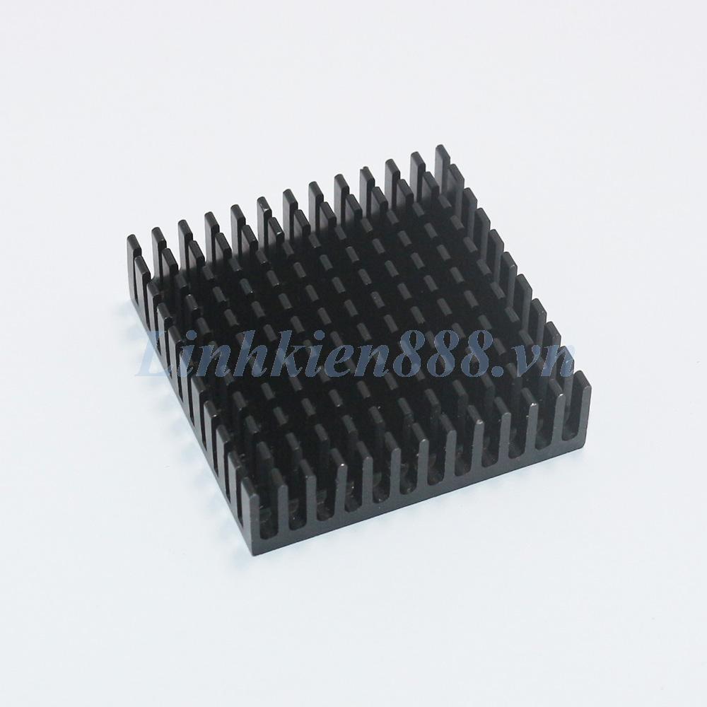 Tản nhiệt nhôm cho CPU 40x40x10mm màu đen